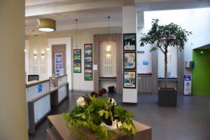 exposition de l'atelier d'art esquisse Banque populaire de Rambouillet
