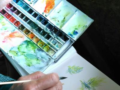Stage dessin et peinture à Rambouillet